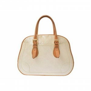 Louis Vuitton Summit Drive Hand Tasche Vernis Weis