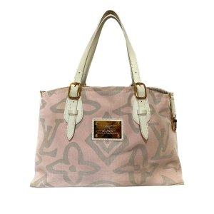 Louis Vuitton Bolso de compra rosa claro