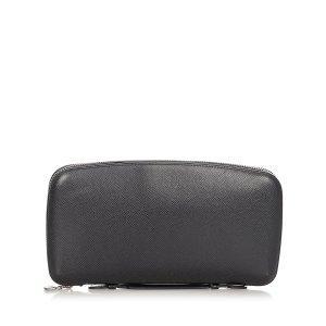 Louis Vuitton Card Case black leather