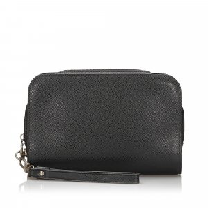 Louis Vuitton Borsa clutch nero Pelle