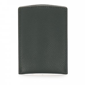 Louis Vuitton Kaartetui zwart Leer