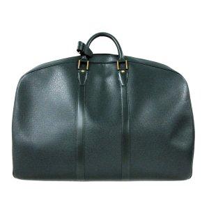 Louis Vuitton Weekendtas groen Leer