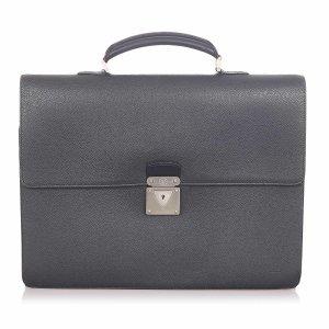 Louis Vuitton Business Bag black leather
