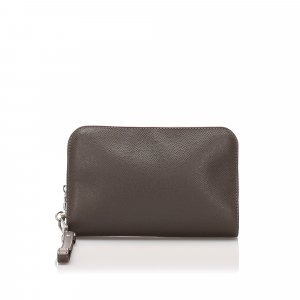 Louis Vuitton Borsa clutch marrone Pelle