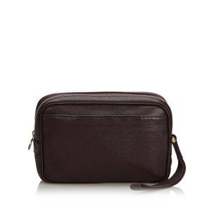 Louis Vuitton Clutch violet leather