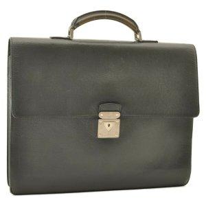 Louis Vuitton Taiga Robusto 1 Business Bag Briefcase Ardoise
