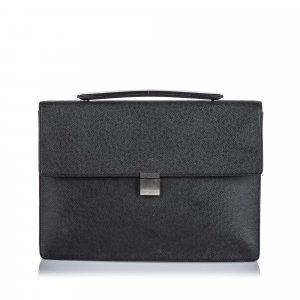 Louis Vuitton Briefcase black leather