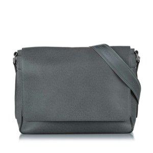 Louis Vuitton Taiga Roman MM Crossbody Bag