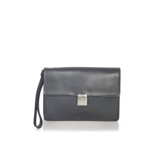 Louis Vuitton Pochette noir cuir