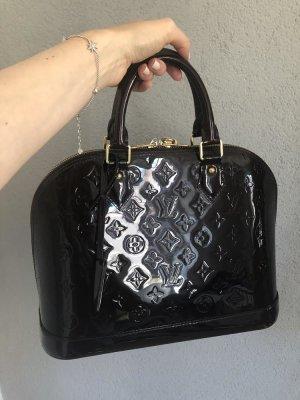 Louis Vuitton Tasche aus dunkelviolettem Lackleder 2012