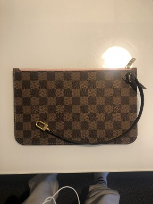 Louis Vuitton Tasche Clutch Top Leder Braun