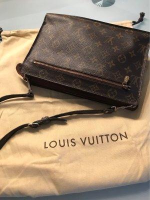 Louis Vuitton Sac à main brun noir-brun
