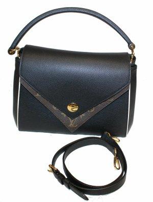 Louis Vuitton Carry Bag black-brown leather