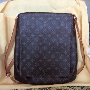 Louis Vuitton Tasche Musette Salsa GM Monogram Cross Body Shoulder Bag