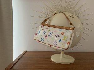 LOUIS VUITTON Tasche Pochette Multicolore weiß RARITÄT