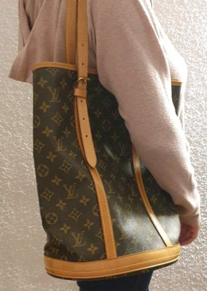 Louis Vuitton Tasche Shopping bag neverfull bucket canvas Monogram GM