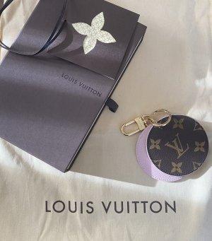 Louis Vuitton Taschen-/Schlüsselanhänger mit Spiegel.