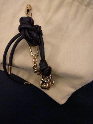 Louis Vuitton Breloczek do kluczy złoto-ciemnobrązowy