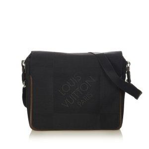 Louis Vuitton Terre Damier Geant Canvas Messenger Bag