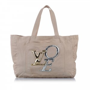 Louis Vuitton Borsa larga bianco