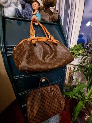 Louis Vuitton Bolso color bronce-marrón