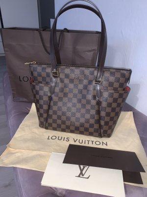Louis Vuitton Borsa a tracolla marrone scuro Pelle