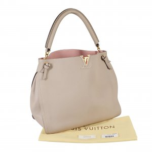 Louis Vuitton Tournon Hobo Bag Handtasche Galet Beige Leder @mylovelyboutique.com