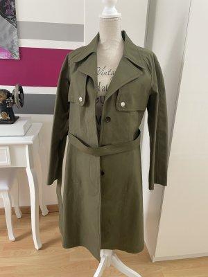 Louis Vuitton Trenchcoat Parka Mantel Gr. 38 Khaki wie neu