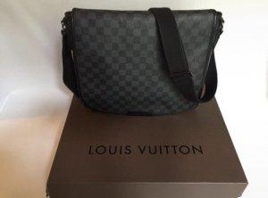 Louis Vuitton Bolso estilo universitario gris antracita-negro
