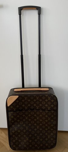 Louis Vuitton Trolley marrone scuro Pelle