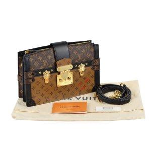 Louis Vuitton Trunk Clutch Monogram Canvas Reverse Handtasche @mylovelyboutique.com
