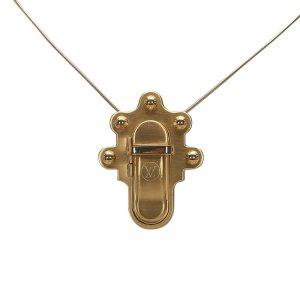Louis Vuitton Trunk Lock Necklace