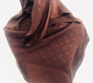 Louis Vuitton Halsdoek bordeaux-roodbruin