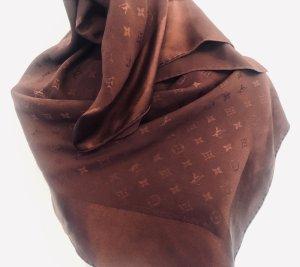 Louis Vuitton Halsdoek bordeaux-roodbruin