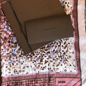 Louis Vuitton Foulard en soie multicolore soie