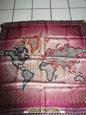 Louis Vuitton Zijden doek veelkleurig