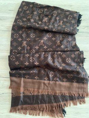 Louis Vuitton Fazzoletto da collo marrone-marrone scuro