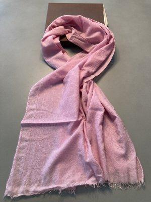 Louis Vuitton Fazzoletto da collo rosa chiaro Lana