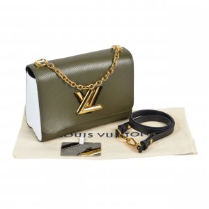 Louis Vuitton Twist MM Epi Leder Handtasche @mylovelyboutique.com