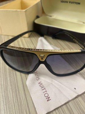 Louis Vuitton Lunettes retro doré-noir