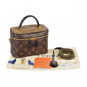 Louis Vuitton Vanity PM Monogram Canvas Handtasche @mylovelyboutique.com