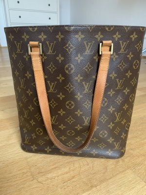 Louis Vuitton Borsa shopper marrone-oro