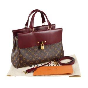 Louis Vuitton Bolsa de hombro multicolor Cuero
