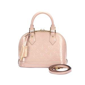 Louis Vuitton Sacoche rose clair faux cuir