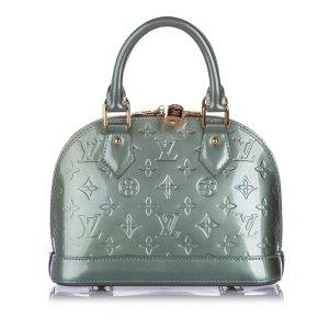 Louis Vuitton Satchel green imitation leather
