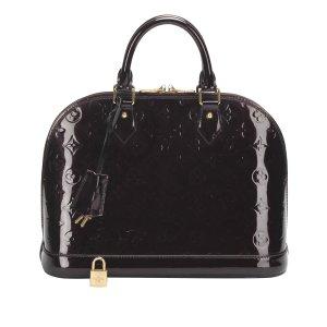 Louis Vuitton Bolso púrpura Imitación de cuero