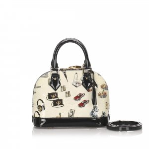 Louis Vuitton Vernis Alma Sticker BB with Strap
