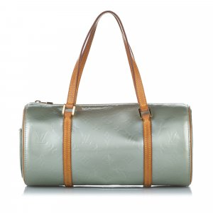 Louis Vuitton Bolso verde Imitación de cuero