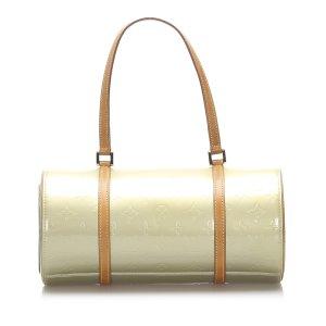 Louis Vuitton Sac à main vert pâle faux cuir