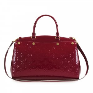 Louis Vuitton Satchel red imitation leather
